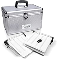 Embellir CD/VCD/DVD Aluminium Wallet Case, Album Storage Box Organizer, 240 Discs