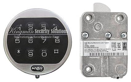 Kaba mas la Gard II Basic Series Cerradura de combinación electrónica