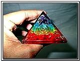 Jet International Chakra Rainbow Orgone Pyramid