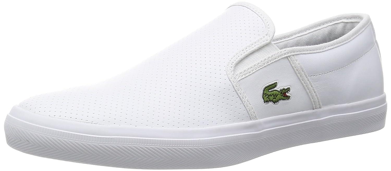 Lacoste Gazon Sport Mens Slipper White 731SPM0017001 Size45 Amazoncouk Shoes  Bags