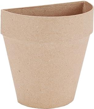 Amazon dcc paper mache half flower pot 4 inch dcc paper mache half flower pot 4 inch mightylinksfo