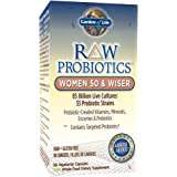 Garden of Life (GOL-11568) RAW Probiotics Women 50 & Wiser, 90 Vegetarian Capsules (Shipped Cold)