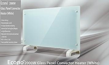 Econo glass panel heater