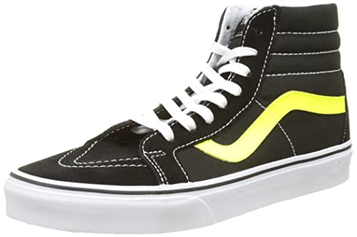 Sk8-hi Reissue, Zapatillas Altas Unisex Adulto, Negro (Premium Leather), 38.5 EU (5.5 UK) Vans