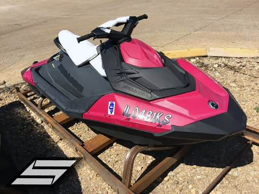 STIFFIE Whipline WL07 Boat PWC Numbers Decal Registration SEA-DOO WHITE NAVY