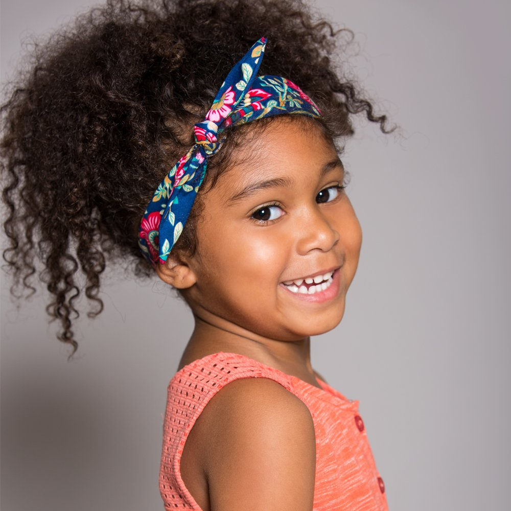 Peppercorn Kids Girls Bow Stretchy Headband