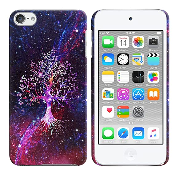 new arrival 89bf0 009ea FINCIBO iPod Touch 5 6 Case, Back Cover Hard Plastic Protector Case Stylish  Design for Apple iPod Touch 5 (5th Generation) iPod Touch 6 (6th ...