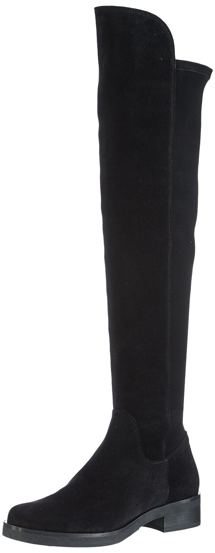 Buffalo London 2071 Serraje Licra - Botas de Material sintético para Mujer41 EU Negro (Negro 01 00)