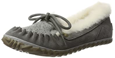 Sorel out N About Slipper, Mocasines para Mujer, Gris (Quarry/Fawn), 36 EU