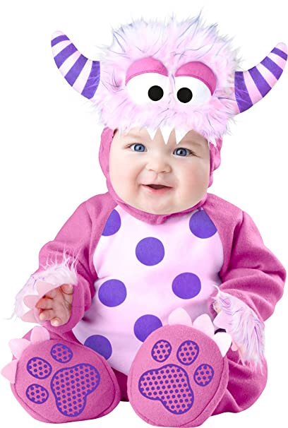 Scary Baby Girl Halloween Costumes.Pink Monster Baby Fancy Dress Halloween Scary Girls Toddlers Infants