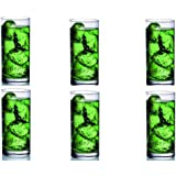 Ocean Fine Line Glass, 280ml, Set of 6, Clear