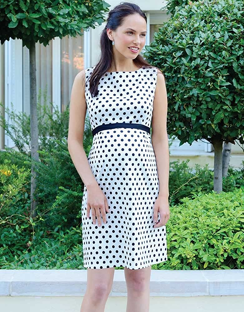 Seraphine Martina Sleeveless Polka Dot Dress