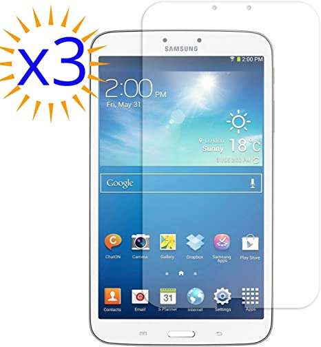 3X Clear Screen Protector Saver for Samsung Galaxy Tab A 8.0 SM-T387V