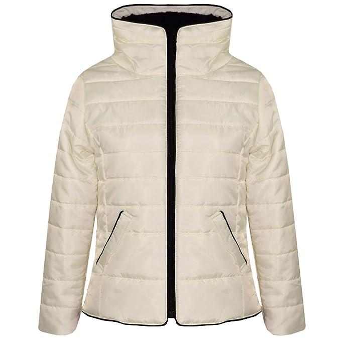 c0683a9e1a2e Amazon.com  A2Z 4 Kids® Girls Jacket Kids Padded Puffer Bubble Faux ...