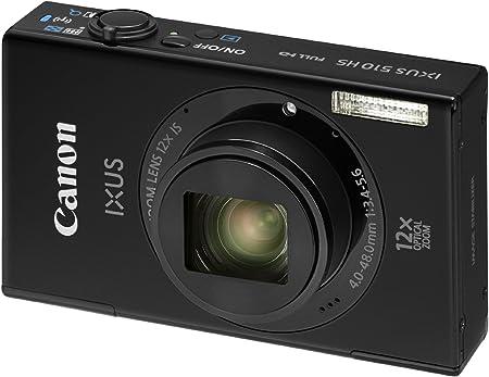 Canon Ixus 510 Hs Digitalkamera 3 2 Zoll Schwarz Kamera
