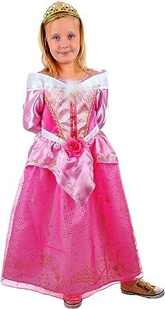 erdbeerloft de niña Carnaval Bella durmiente Aurora Disfraz con ...