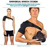 Shoulder Brace for Men Women - for Torn Rotator Cuff Support,Tendonitis, Dislocation, Bursitis, Neoprene Shoulder Compression