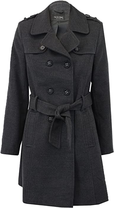 Women/'s Large Shawl Hooded Coat De La Creme