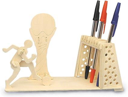 Football Pen Holder Woodcraft Construction Kit