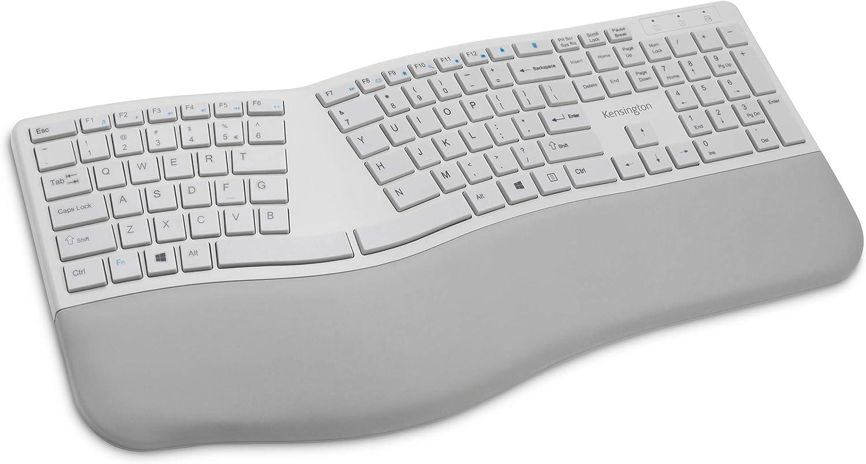 Kensington Pro Fit Ergonomic Wireless Keyboard - Grey (K75402US)