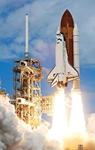 LAMINATED 24x37 Poster: Rocket Launch Rocket Take Off Nasa Space Travel Drive Boost Acceleration Gravity Gravitation Speed Up Space Shuttle Discovery Science Research Fire Fire Blast