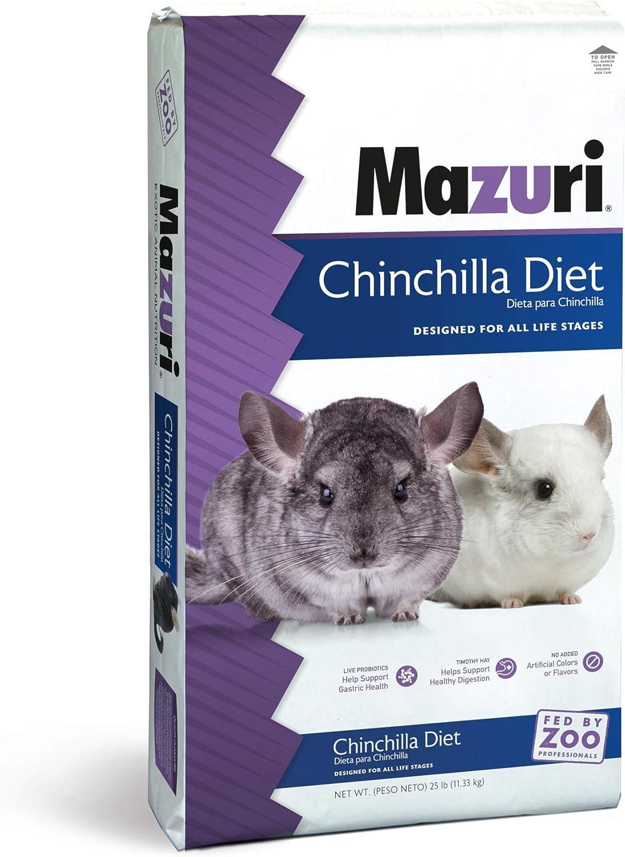 Mazuri Chinchilla Diet, 25 lb Bag