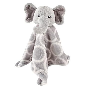Amazon Com Hudson Baby Animal Friend Plushy Security Blanket Gray