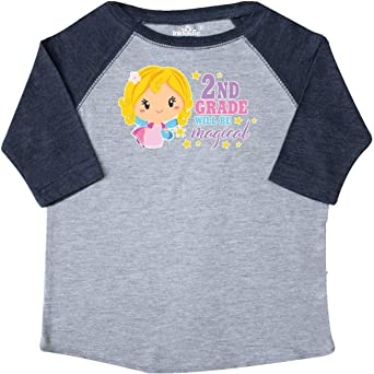 inktastic 3rd Grade Will Be Magical with Blonde Haired Fairy Toddler T-Shirt
