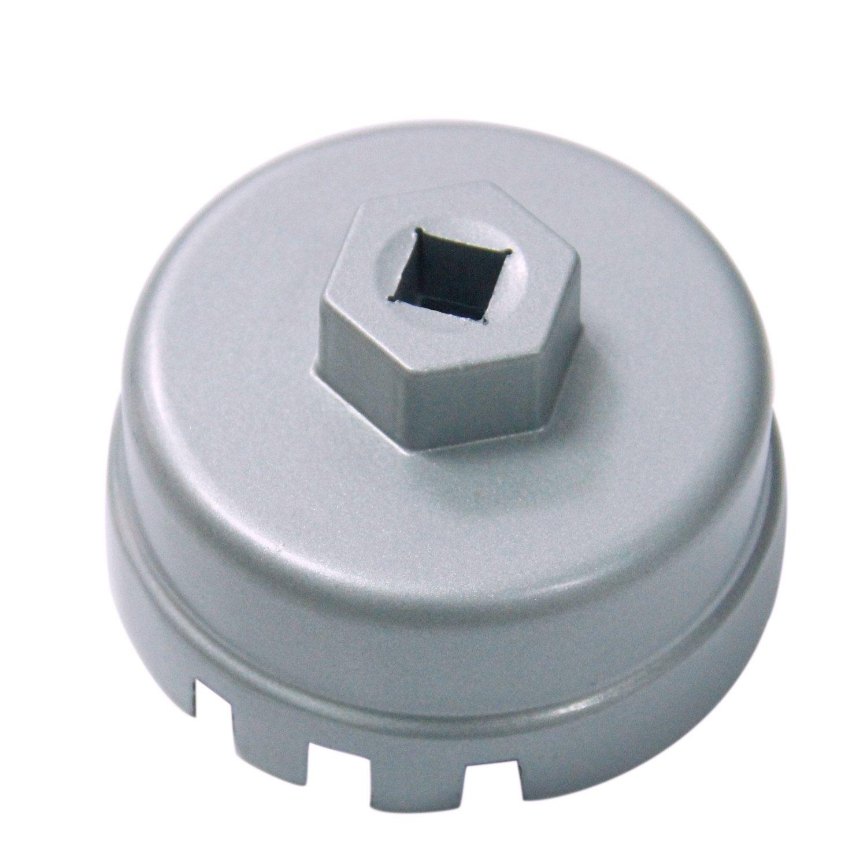 Amazon.com: Bentolin 64.5mm Oil Filter Wrench for 1.8 Liter Toyota Corolla,  Prius, Matrix, Lexus CT200h, Scion xD, iQ Engines: Automotive
