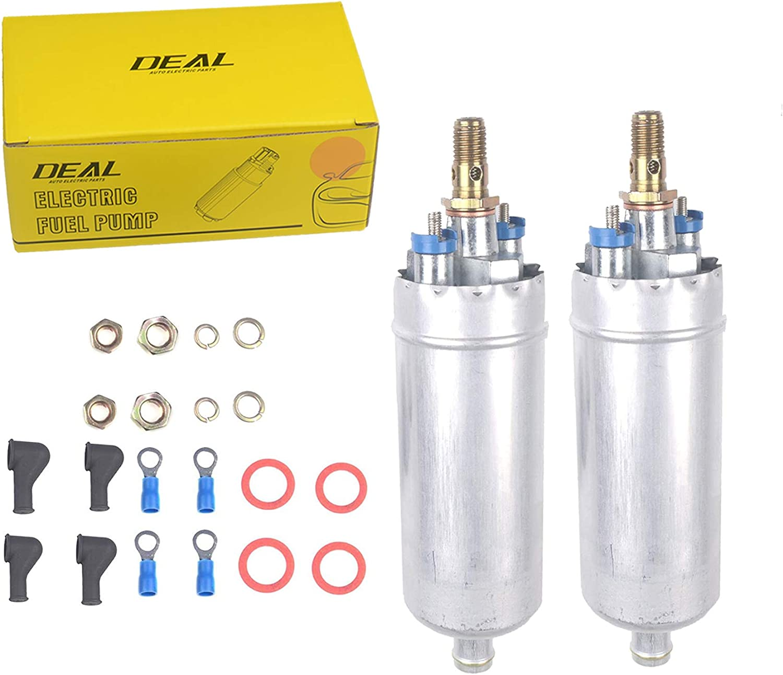 DEAL Set of 2 New EFI Electric External In-Line Fuel Pump Fit Benz C/CL/E/S/SL Class E8177