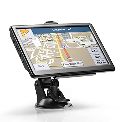 """GPS Navigation for Car, Lttrbx 2020 Latest Version 7"""" Touch Screen 8GB Real Voice Spoken Turn-by-Turn Direction Reminding Navigation System for Truck Driver, Vehicle GPS Satellite Navigator: GPS & Navigation"""
