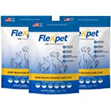 Flexpet Maximum Strength Soft Chews – All-Natural Pain Reliever for Dogs with Glucosamine and Cetyl Myristoleate (CM8…