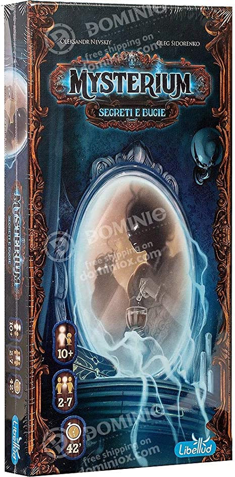 Asmodee- Mysterium-Segreti y Bugie expansión Juego de Mesa edición Italiana, Color, 8694: Amazon.es: Juguetes y juegos