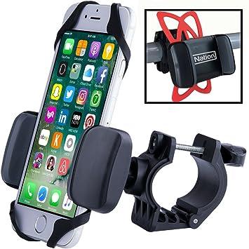 Soporte bici para smartphone, soporte iPhone para bici. Monte con seguridad cualquier móvil en el manillar ...