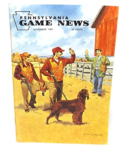 Amazon com : November 1980, Pennsylvania Game News Magazine