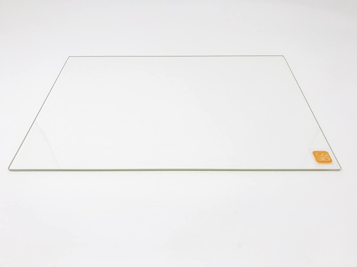 214mm x 314mm Borosilicate Glass Plate//Bed Flat Polished Edge for 200x300 Heated Bed 3D Printers
