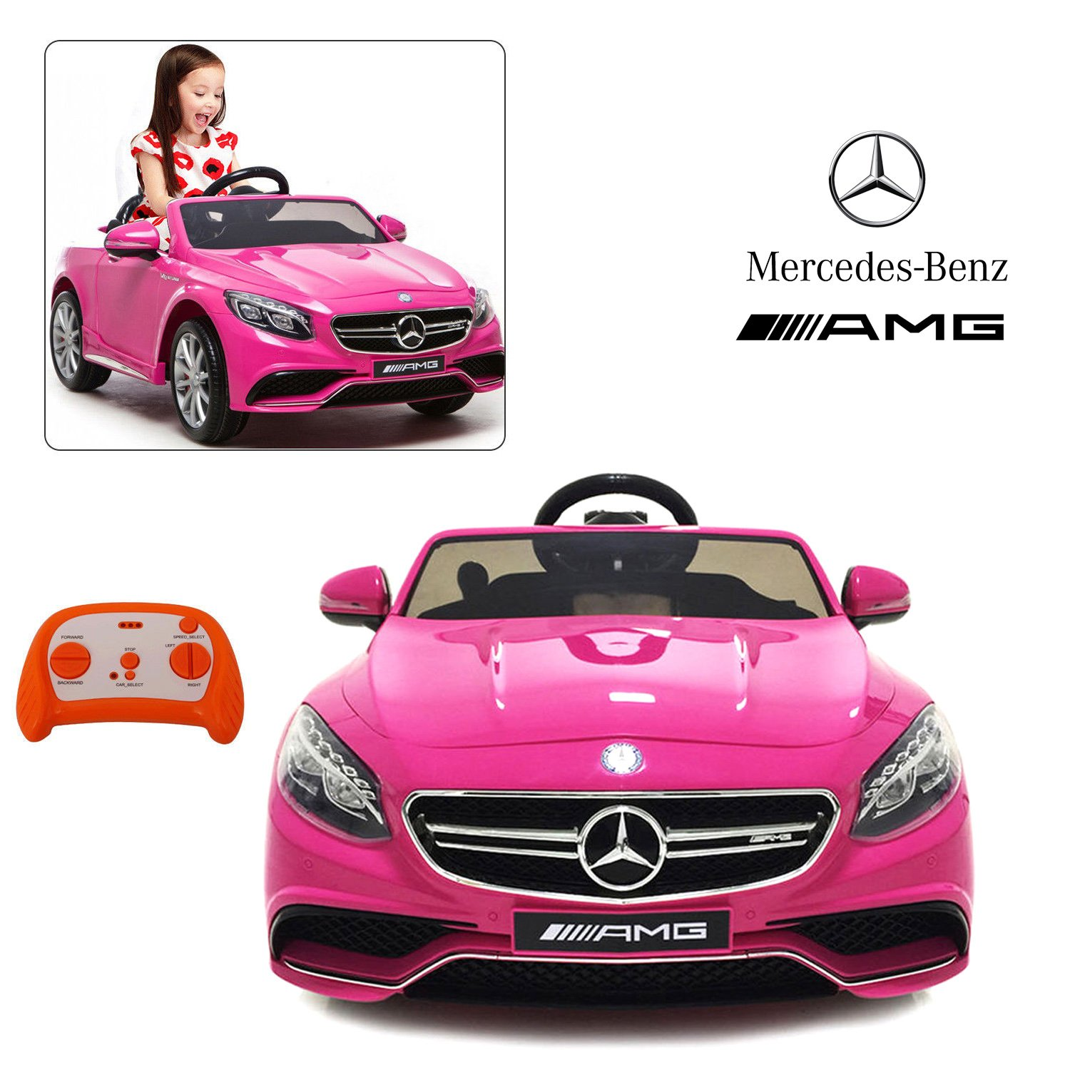 Amazon ficial Licensed Mercedes Benz Ride Car With Remote