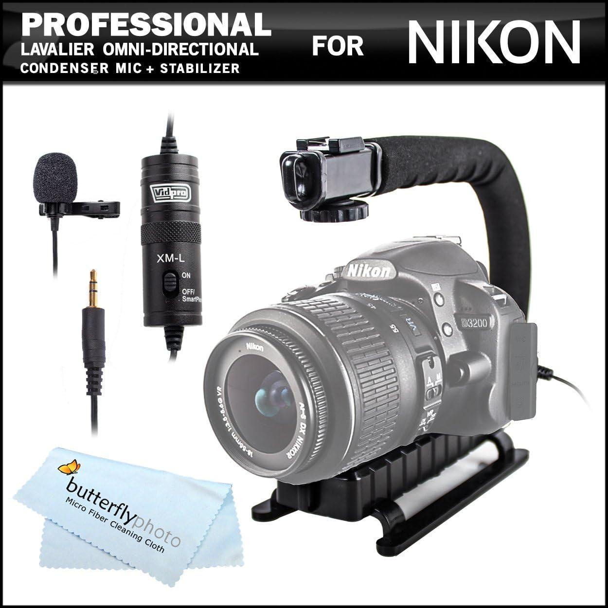 Profesional () de solapa Lavalier omni-direccional micrófono de ...