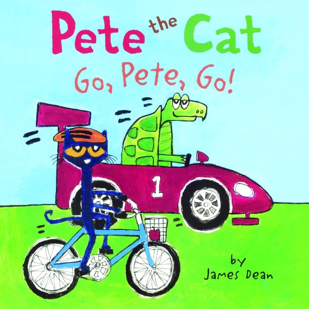 Go, Pete, Go (Turtleback School & Library Binding Edition) (Pete the Cat)