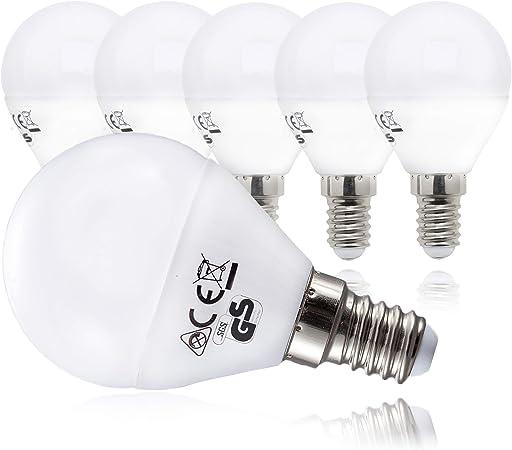 B.K.Licht Bombillas LED E14 I Ecológico I Bajo Consumo I 5W ...