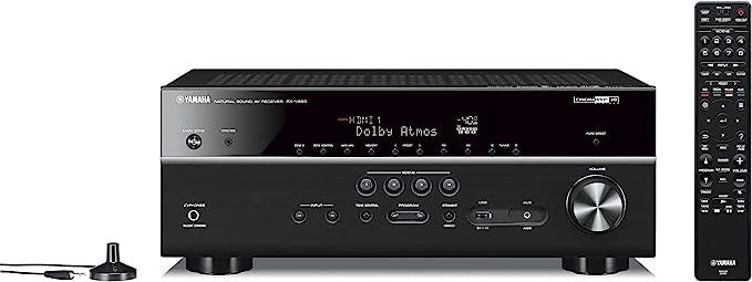 AmazonSmile: Yamaha RX-V685 7.2-Channel AV Receiver with MusicCast: Electronics