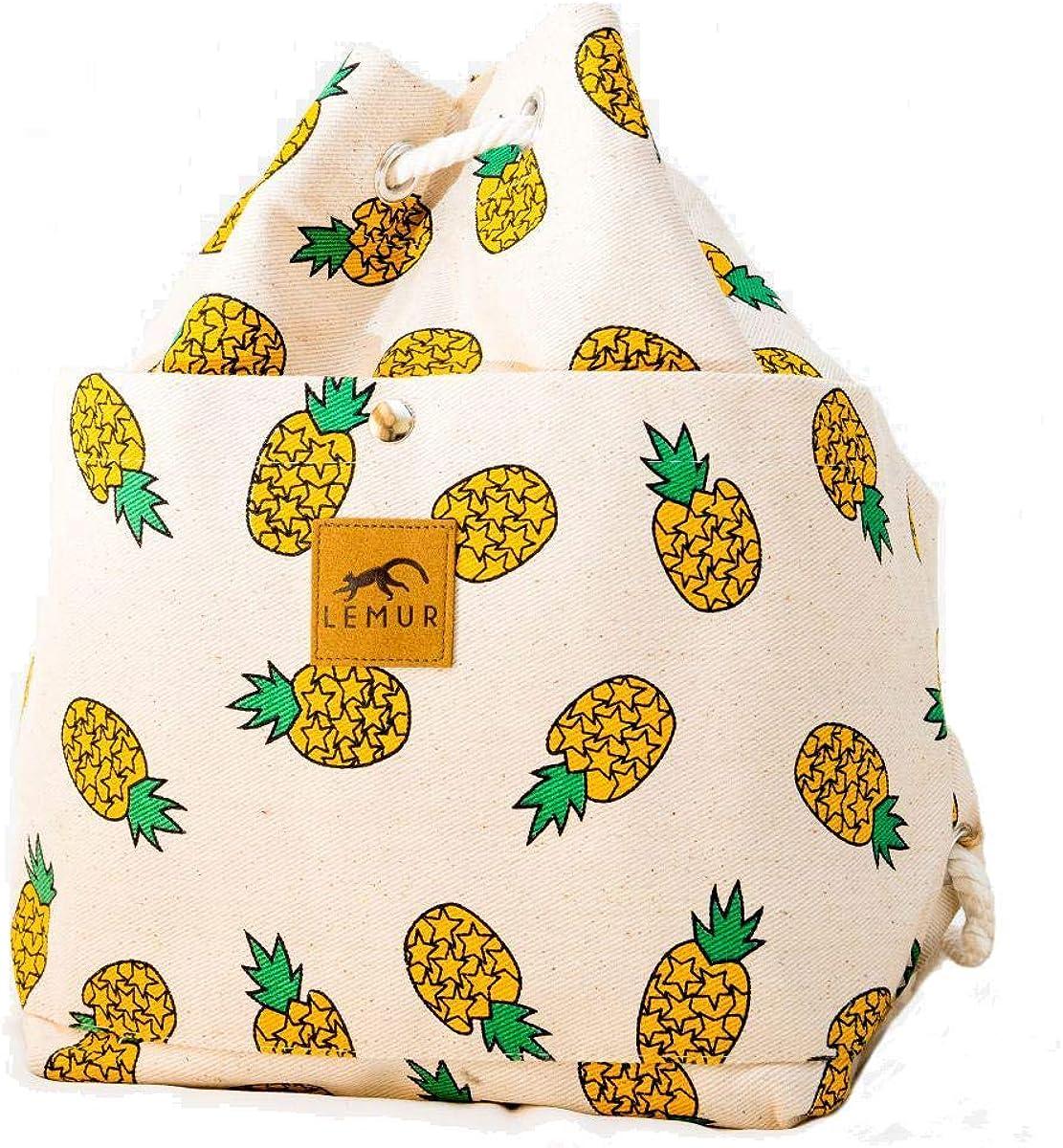 Lemur Bags Canvas Backpack...