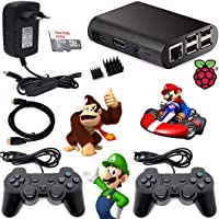 Video Game retro 9000 jogos Recalbox Raspberry Pi3 2 Controles PS2