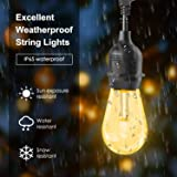Outdoors String Lights, iBesi 96FT RGB LED String