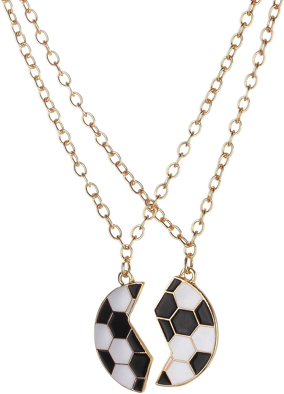 LUX accesorios dorado tono negro esmalte blanco roto balón de ...