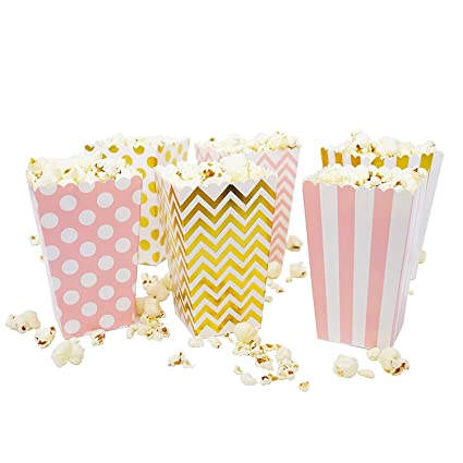 Amazon Alila Popcorn Box Candy Favor Boxes For Birthday Party