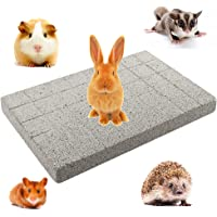 Rabbit Grinding Claw Pad Lava Grinding Teeth Stone Chew Toy Foot Pad for Bunny Rabbit Chinchilla Guinea Pig Totoro…