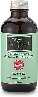 product image for Karma Organic Nail Polish Remover-Tea Tree Oil Based Formula, moisturize and Nourish Nails