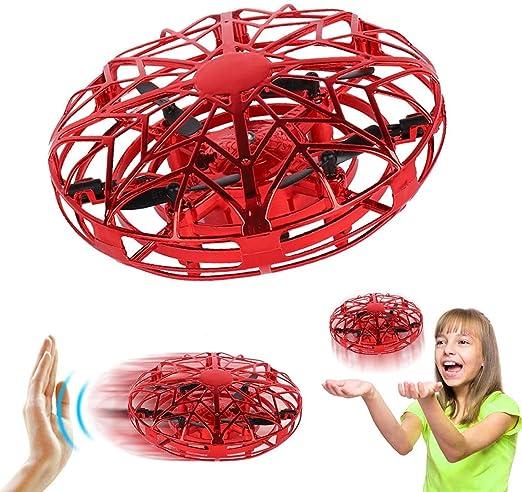 Pozlle Mini Drones para niños y Adultos, RC UFO Helicóptero con ...