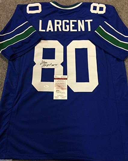 buy online 31c0e 0697c STEVE LARGENT AUTOGRAPHED SIGNED INSCRIBED SEATTLE SEAHAWKS ...
